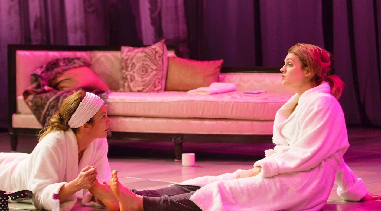 Sensitive and Nuanced Performances: Diane Lane and Gayle Rankin in 'The Mystery of Love & Sex,' now playing at Lincoln Center.