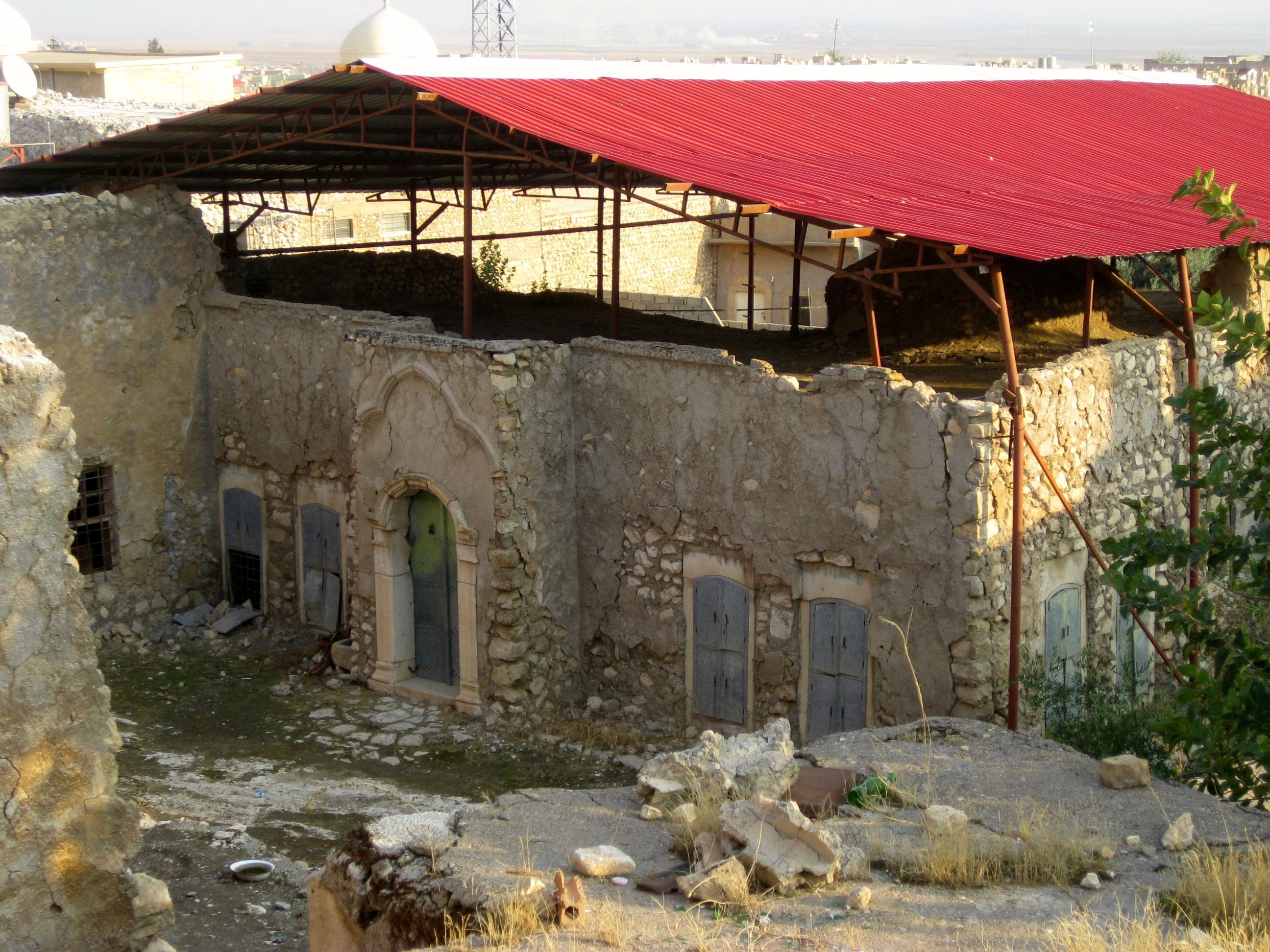 Perilous Pilgrimage: The purported tomb of the prophet Nahum is housed in in an abandoned synagogue, the last Jewish structure still standing in Northern Iraq.