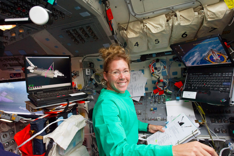 NASA astronaut Sandy Magnus