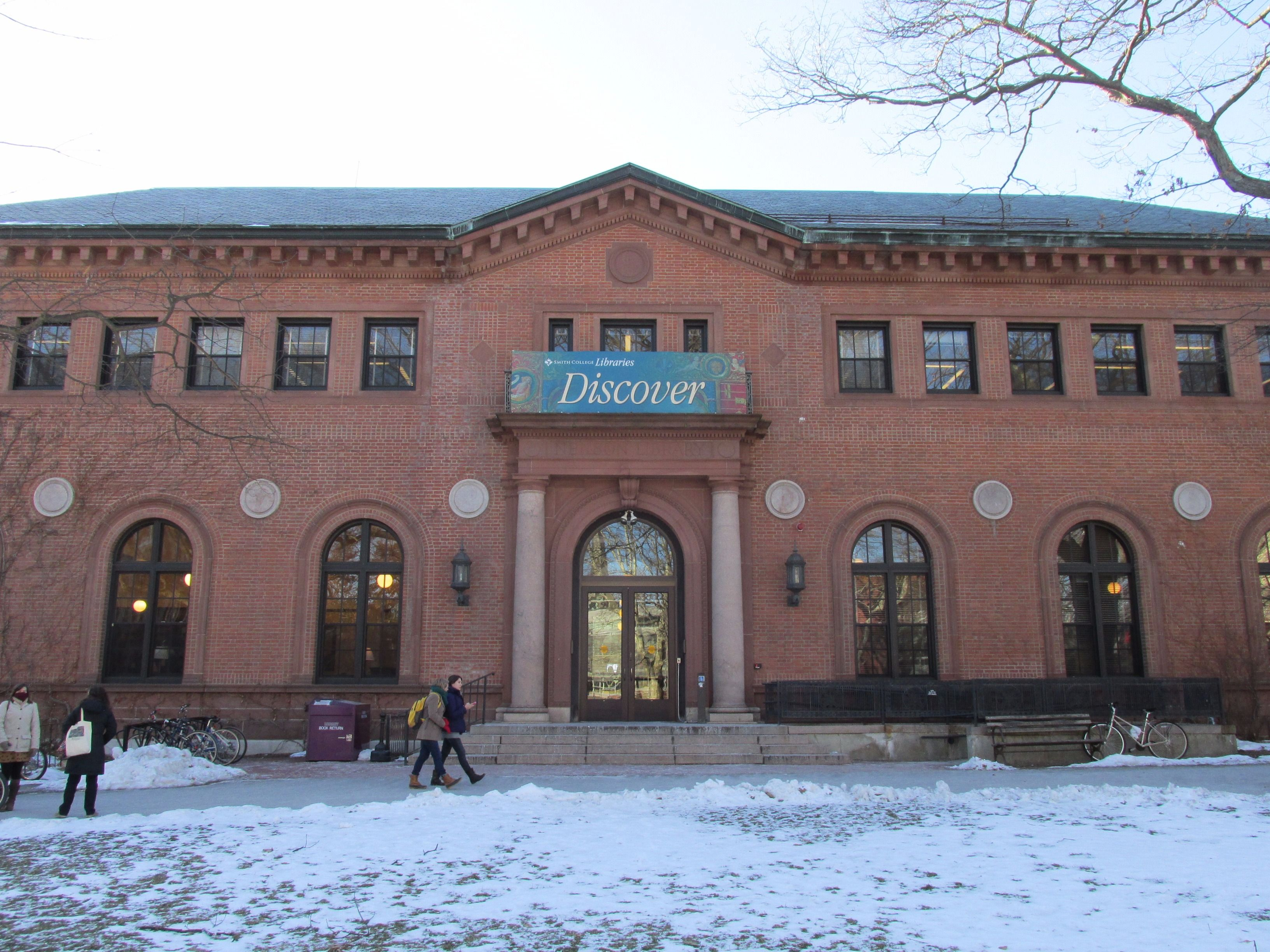 Neilson Library at Smith College.