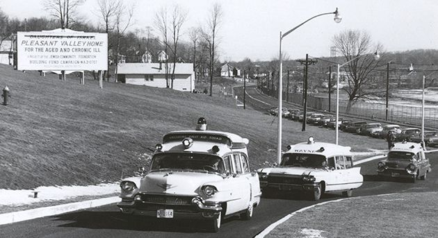 Parade of Ambulances: Newark?s Jews established the Daughters of Israel Home for the Aged in 1906 ? the first home of its kind in New Jersey. DOI followed the exodus that was under way and moved its residents in 1962 to start anew in the town of West Orange.