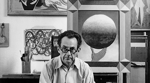 Portrait of the Artist: Man Ray in Hollywood, circa 1948.