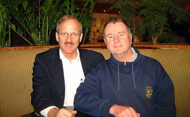 Leaders: Gregory Robison, left, and Paul Costello in Washington in 2009.