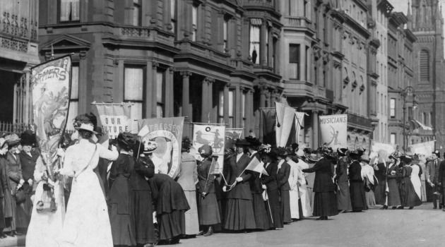 100 Years Ago: In 1913 New York saw suffragette marches and an opium den bust.