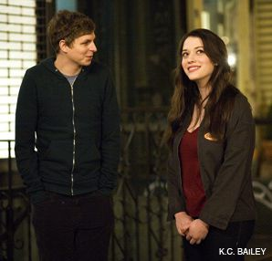 COMING-OF-AGE: Michael Cera and Kat Dennings star in the film.
