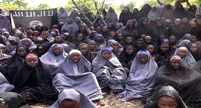Bring Them Back: An image of the girls kidnapped by Boko Haram.
