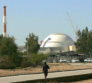 Bushehr nuclear power plant, February 2006