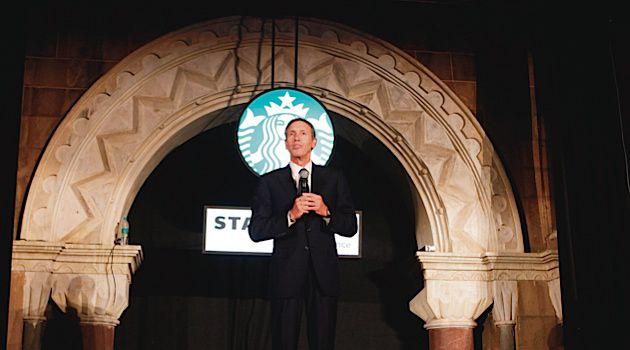 Tall Order:  Starbucks CEO Howard Schultz grew up in a modest Brooklyn Jewish household.