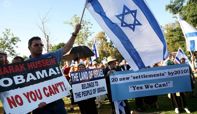 No You Can?t: The protests that met President Obama?s recent trip to Israel indicated the extent of Israeli discontent with the American president.