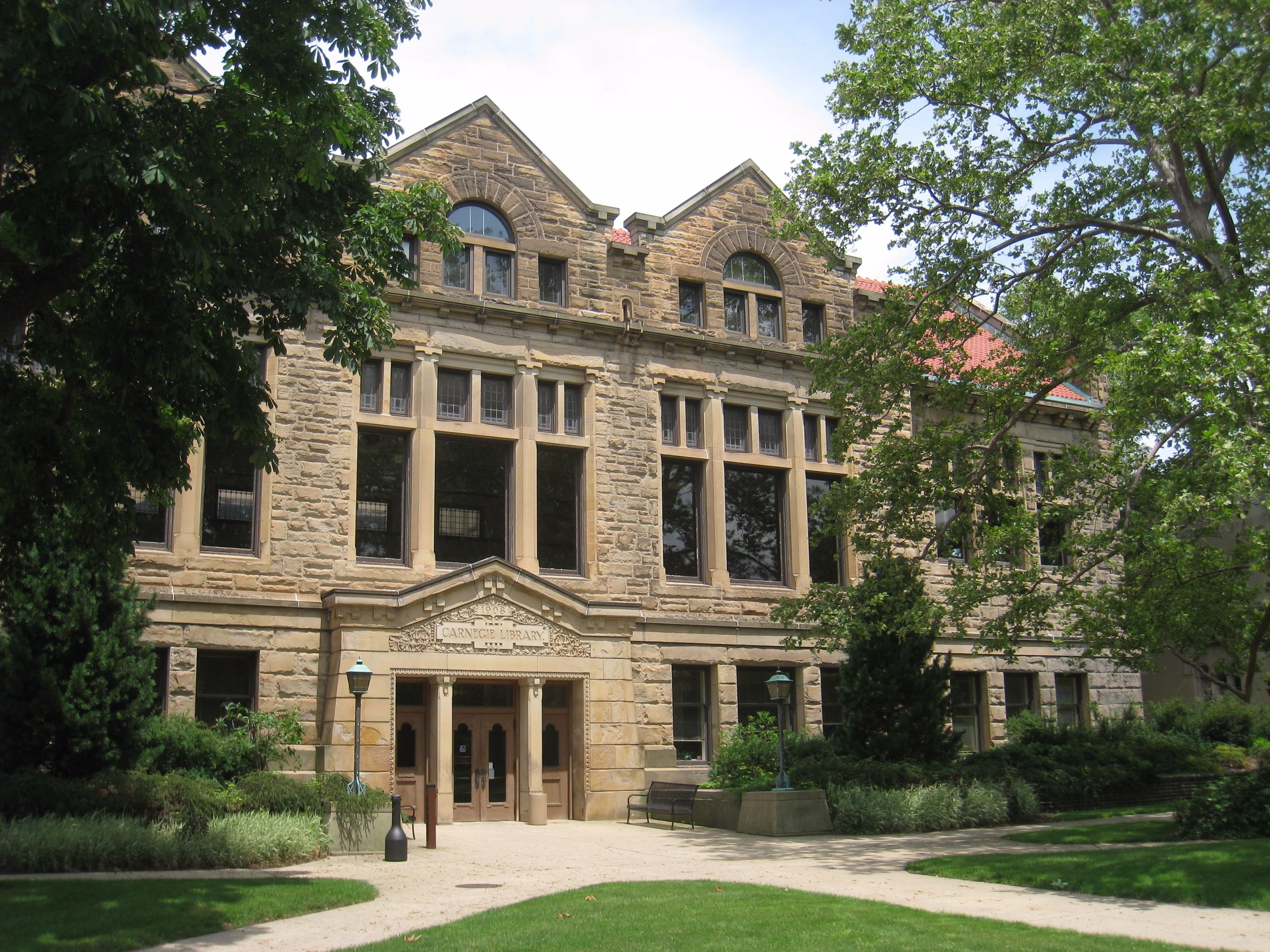 The Carnegie Building at Oberlin College
