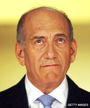 FACING REALITY: Olmert is stepping down under a cloud of suspicion.