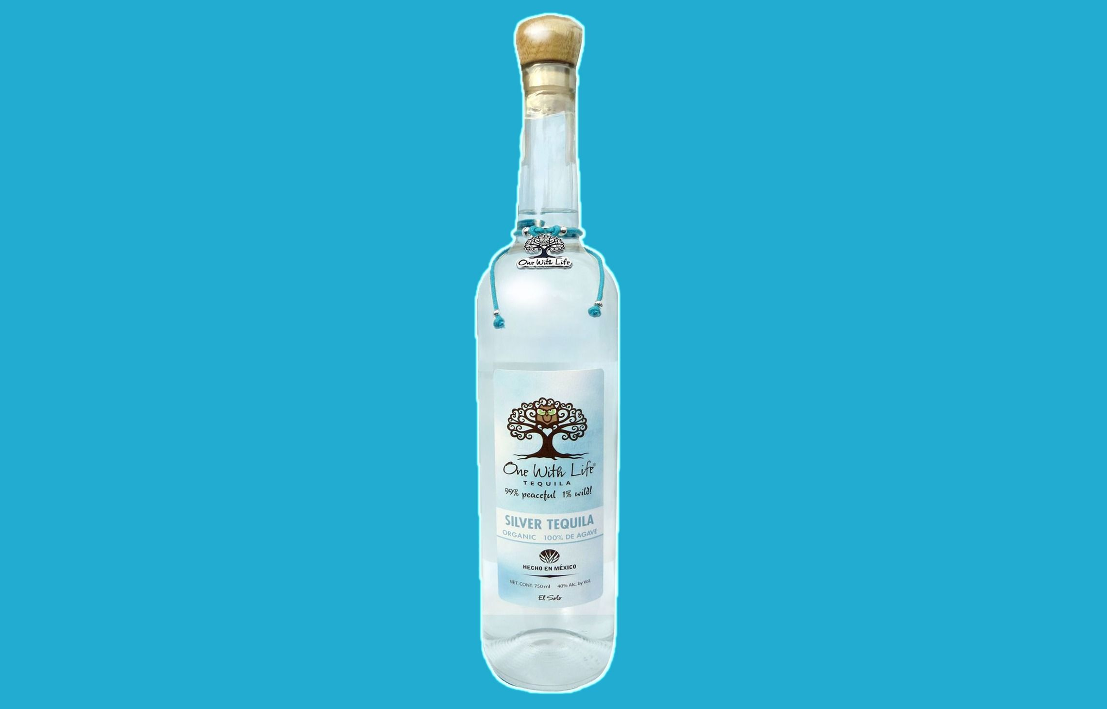 One with life tequila is certified kosher and organic.