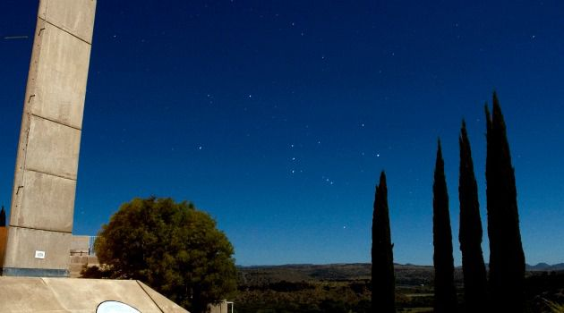 Rising Stars: Orion, seen here over the Arizona desert, has also been called ?the Hunter? and ?the Warrior.?