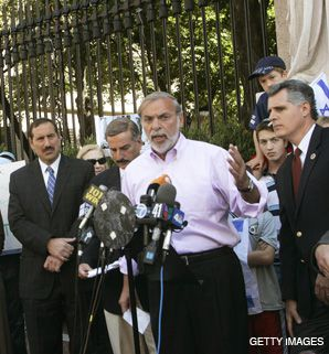 HIKIND: The Brooklyn assemblyman, here protesting the Iranian president, has helped mentor a number of young Orthodox politicians.