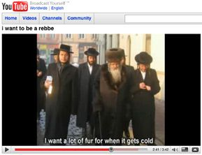 LIFESTYLES OF THE RICH AND RABBINICAL: A song by popular Orthodox singer Shauly Grossman spoofing unnamed rabbis sparked a furor after it was put on YouTube with visuals of identifiable Hasidic leaders.