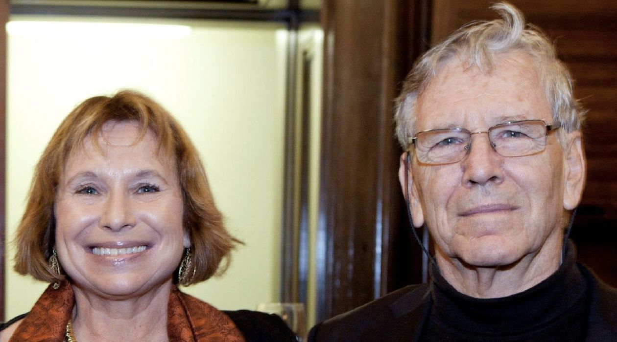 Holding Firm To Principles: Despite the fact that her father remains hospitalized, Fania Oz-Salzberger (left) says Amos Oz still opposes the ground invasion of Gaza.