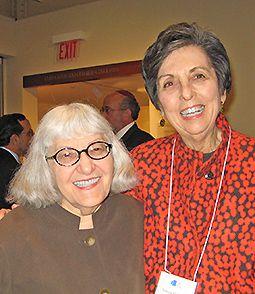 Cynthia Ozick and Francine Klagsbrun