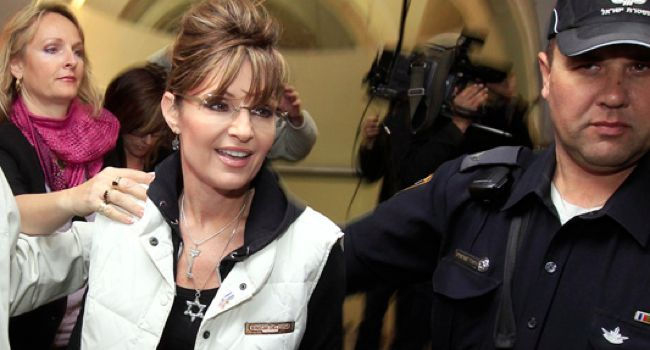 A Joiner: Non-Jews like Sarah Palin sometimes wear Jewish stars as a sign of affection for the Jewish people.