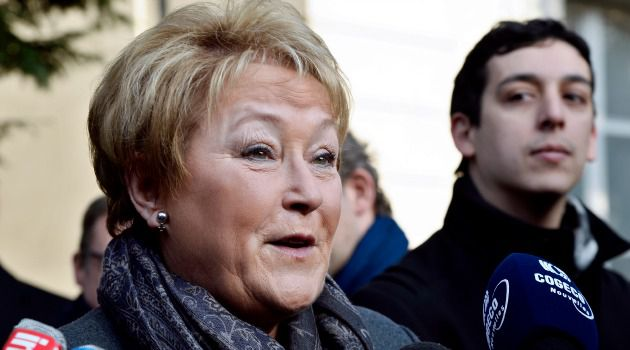 Standing By: Quebec Premier Pauline Marois supported Parti Quebecois minister Louise Mailloux despite her comments, perceived as anti-Semitic.