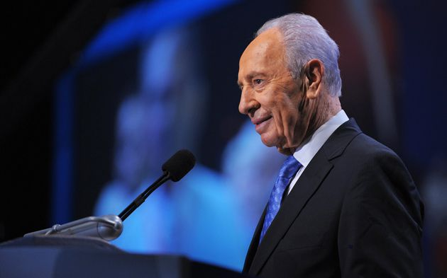 Preaching To the Converted: Israeli President Shimon Peres, above, warned AIPAC delegates about the threat posed by Iran.
