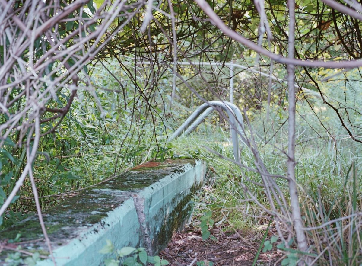 Outdoor Pool, Perlin's Bungalow Colony, Glen Wild, NY