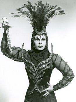 Roberta Peters as the Queen of the Night.