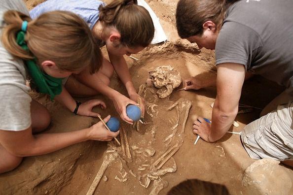 An excavation site in Ashkelon