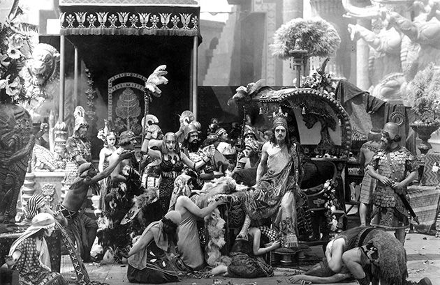 A Feast Day in Babylon?: D.W. Griffith?s 1916 film, ?Intolerance,? shows decadence under siege.