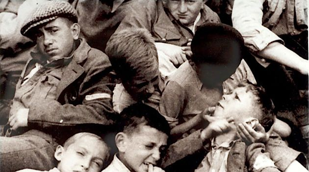After the Liberation: Between 600 to 900 boys were saved and secreted away by Buchenwald's underground resistance.