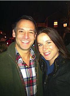 Dr. Howard Krein and Ashley Biden