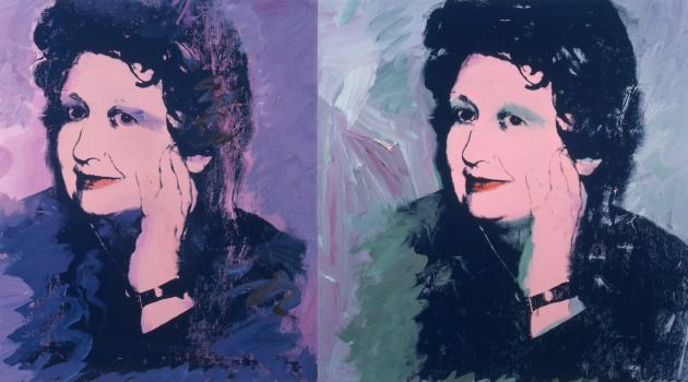 Pop Art Star: Ileana Sonnabend showed the work of Andy Warhol in the gallery she established in 1962.