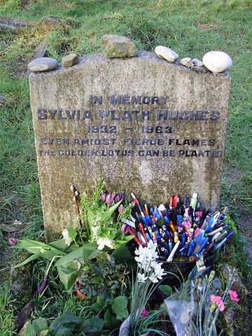 Gravesite of Sylvia Plath