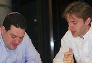 Mavericks: Rabbis Shai Held, left, and Ethan Tucker were among the co-founders of Mechon Hadar.