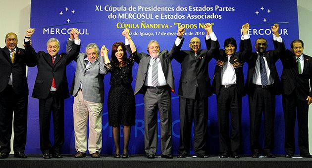 Enablers: Argentina?s Cristina Kirchner, Brazil?s Lula da Silva and Bolivia?s Evo Morales have all recently declared that they recognize a Palestinian state within 1967-borders.