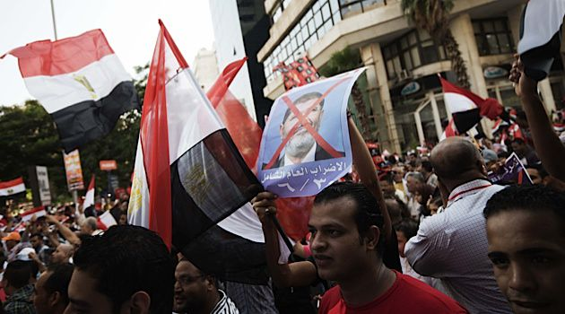 Ousting Morsi?: Hundreds of thousands of Egyptians gathered June 30 to protest Morsi.