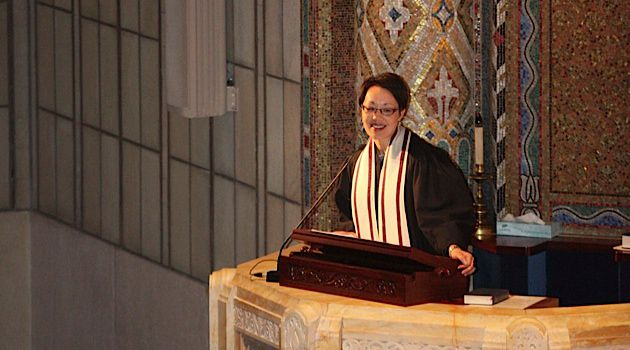 Pulpit Pioneer: Angela Buchdahl, who is of Korean and Ashkenazi descent symbolizes a new, more diverse Reform Movement.