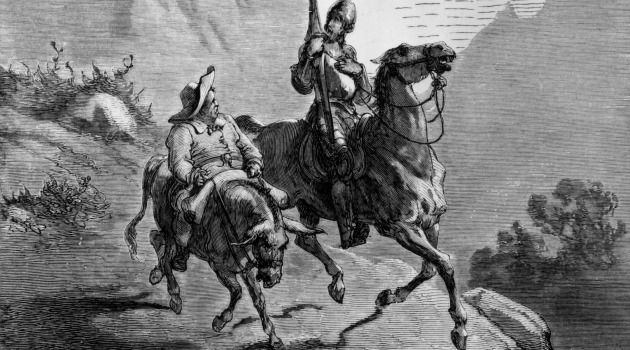 Impossible Dreamers:  The adventures of Don Quixote and Sancho Panza seem to have been influenced by stories in the Zohar.