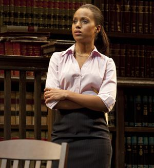 This Isn?t Over: Susan (Kerry Washington) assists and subverts her senior male bosses as they juggle race relations.