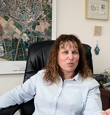 Changes: Shira Avin, Ramat HaSharon?s deputy mayor, said that she wants the federation to give to causes outside Isarel.