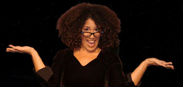 Pryor Experience: Rain Pryor?s African-American and Jewish backgrounds influence her performances.