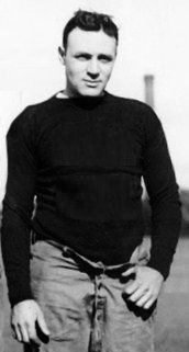 Ralph Horween, brother of Arnold. They played under the Irish name McMahon so as not to attract attention.