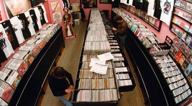 Vintage Vinyl: Old time religion is going the way of the old record store.
