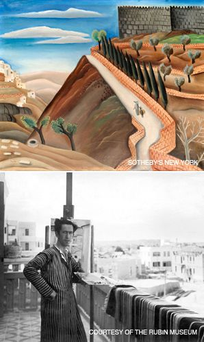 The View From Here: Reuven Rubin, who captured the great promise of Israel?s pioneer generation, has recently emerged as one of the country?s most sought-after 20th-century painters. (Top, ?Ramparts of Jerusalem.?)