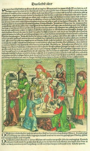 'The Ritual Murder of Simon of Trent.' Hartmann Schedel, Liber Chronicarum, fol. 254v, Nuremberg, 1493.