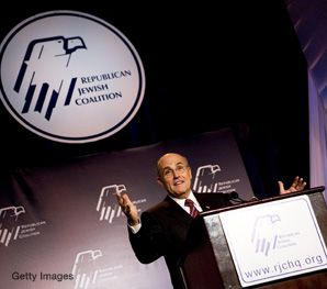 At an October 16 event for presidential candidates hosted by the Republican Jewish Coalition, Giuliani regaled his audience with the tale of how, as mayor of New York, he threw Yasser Arafat out of a concert.