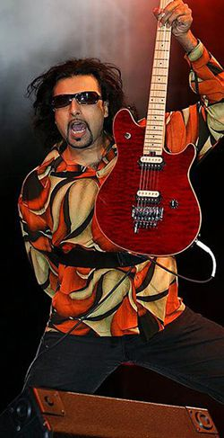 Coolest Prof Ever: Ahmad, shown performing in 2006, teaches at Queens College.