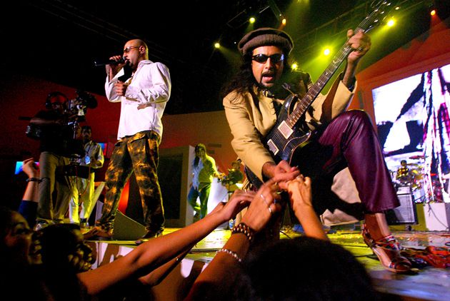 A Doctor, and a Legend: Salman Ahmad, South Asia?s biggest music celebrity, performs in India (above) and teaches at Queens College.