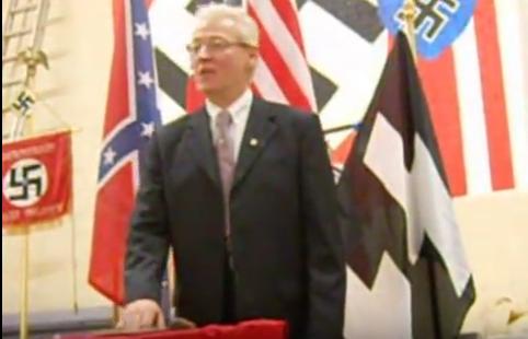 American Nazi leader Rocky Suhayda in 2010
