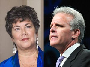 At odds: Obama?s special envoy on antisemitism, Hannah Rosenthal, sparked a debate by criticizing Israeli Ambassador Michael Oren.