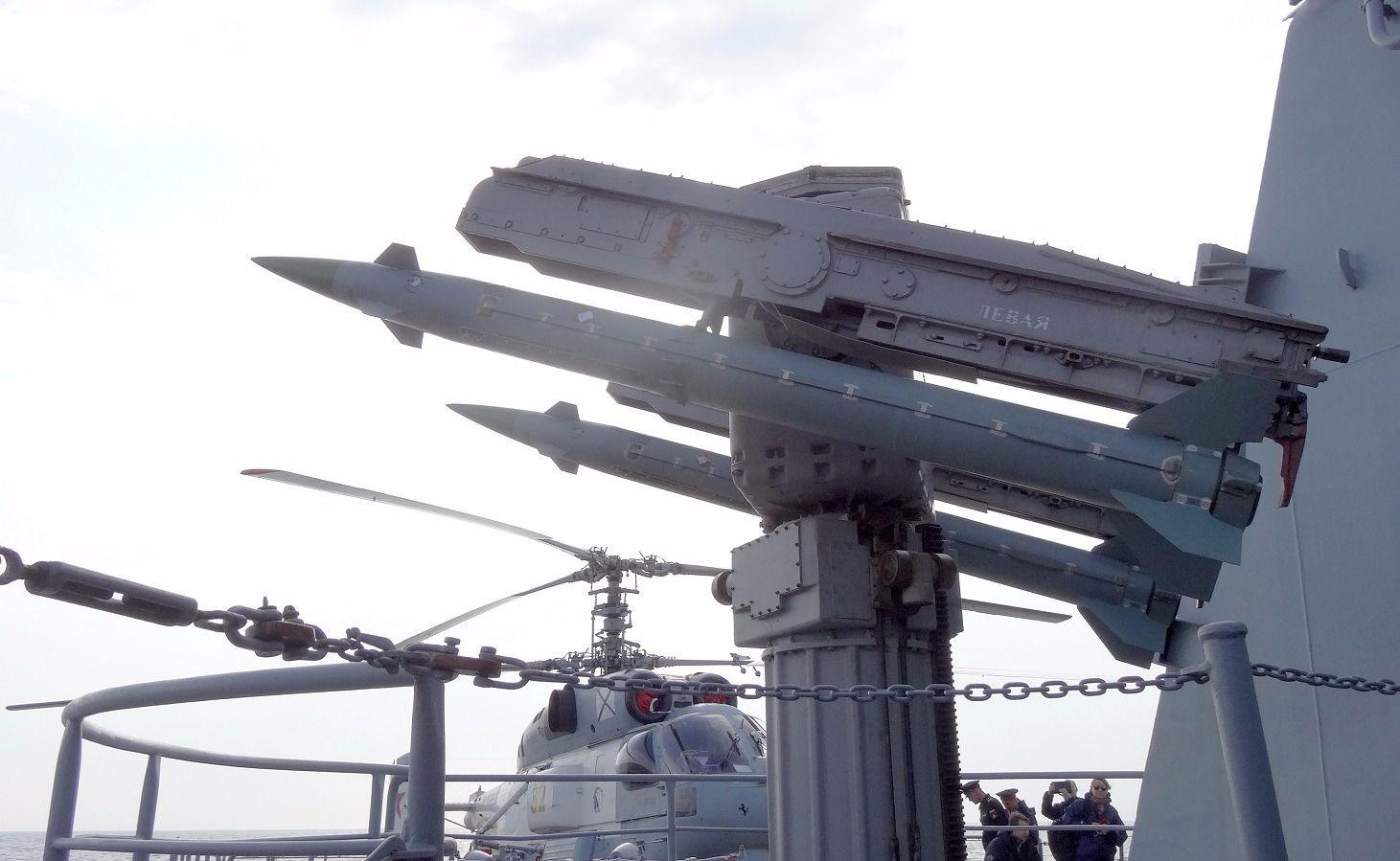 Russian Navy Cruiser.